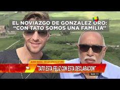 González Oro blanqueó su historia de amor y presentó a su novio