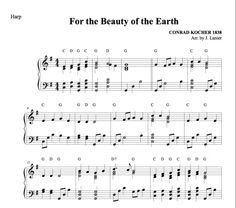 $1.50 Harp Music: For the Beauty of the Earth