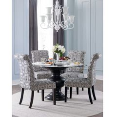 upholstered parsons collection casual dining dining rooms art van furniture the midwests