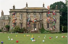 Decorations that POP! Tim Walker Balloon Cover House