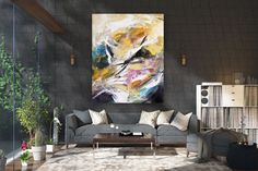 Large Abstract Painting,Modern abstract painting,square painting,gold canvas painting,modern abstract,textured painting FY0003 Gold Canvas, Canvas Wall Art, Textured Painting, Colorful Artwork, Contemporary, Modern, Canvas Size, Office Decor, Original Paintings