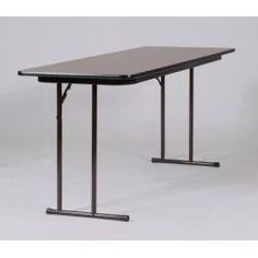 """Seminar Tables with Off-Set Leg 24"""" x 96""""- Correll Office Furniture - ST1896PX by Correll. $153.99. Off-set legs offer superior leg room. High-pressure laminate material gives a hard, flat, writing surface. Easily fold for transporting and storing. This furniture arrives unassembled. The new Correll Leg design has the most leg room of any Seminar Table design on the market. ST2496PX Features: Off-set legs for maximum leg room Legs are set closer to the ends, allo..."""