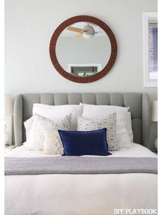 Maxen Pillow, Navy