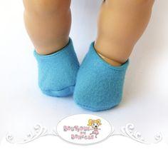 Pantufa Azul ♥ Tamanho P