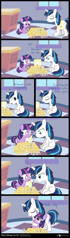 Comic Block: What Siblings Are For by dm29.deviantart.com on @DeviantArt