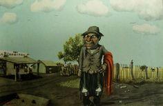 """Molina Campos. """"Pa' un día patrio"""". http://www.desvandebuenosaires.net/humor-patoruzu/florencio-molina-campos/"""