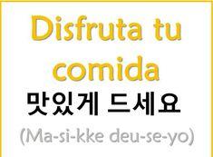Korean Words Learning, Korean Language Learning, Learning Spanish, How To Speak Korean, Learn Korean, Learn Hangul, Korean Writing, Korean Phrases, Korean Alphabet