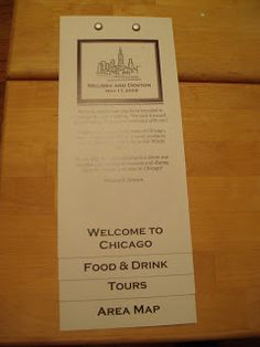 Chicago wedding welcome guide