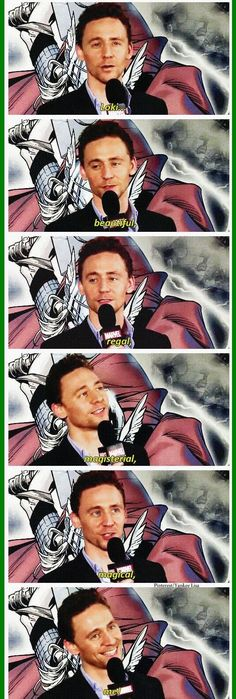 That's perfect Tom. That's just perfect.