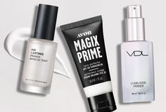 Find Your Perfect Primer Amp up your beauty pregame with a primer that keeps makeup on all day. Brochure Ideas, Avon Brochure, Primer For Dry Skin, Matte Primer, Oil Shop, The Face Shop, Sales Representative, Avon Rep, Primers