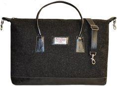 Harris Tweed Luggage Bag