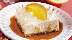 "A delicious ""no- bake"" dessert recipe - this orange dessert with caramel sauce is just perfect for those special moments!"