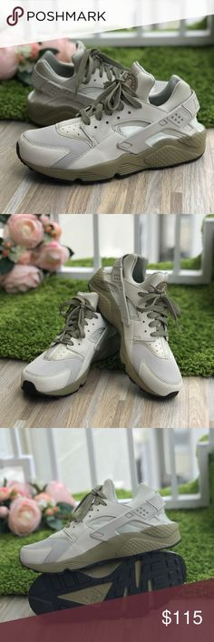 NWT Nike Huarache Run Olive M Brand new with box, no loud. Price is