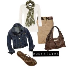 Modestlyme on Polyvore.  She has designed cute modest outfits.