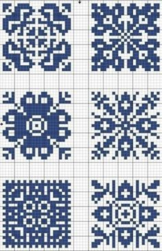Meant for cross stitch but could be made into a knitting chart Cross Stitch Charts, Cross Stitch Designs, Cross Stitch Patterns, Crochet Chart, Filet Crochet, Knitting Charts, Knitting Stitches, Knitting Patterns, Cross Stitching