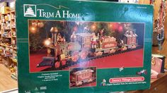 Trim A Home Santas Village Express by BlingAndBlueJeans on Etsy