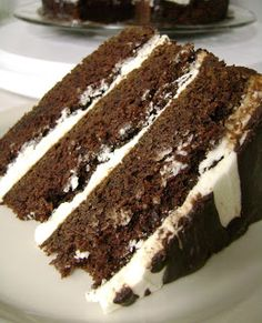 Guinness Chocolate Cake with Bailey's Frosting