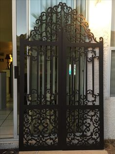 Magalie Sarnataro's props Gothic gate made out of foam core