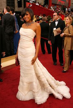 Taraji P. Henson in Roberto Cavalli, Academy Awards 2009