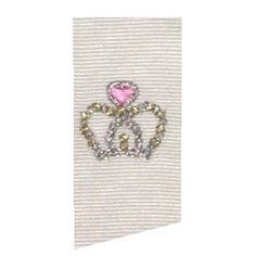 Tiny Dot Crown | Featured Products | Machine Embroidery Designs | SWAKembroidery.com