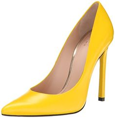 Stuart Weitzman Women's Queen Dress Pump, Yellow, 6 M US Stuart Weitzman http://www.amazon.com/dp/B00MP24OEE/ref=cm_sw_r_pi_dp_Gf0Lvb1FW1QFH