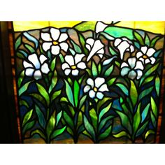 Details of Tiffany Studio New York Window