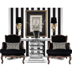 19th-C Neoclassical Lithograph... by gloriettequartet on Polyvore featuring polyvore, interior, interiors, interior design, home, home decor, interior decorating, Carter Sinclair, Kate Spade and Milton & King