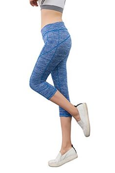 18034245e321 Amazon.com: Eastabile Women's Activewear Yoga Pants High Rise Fit Tights  Cropped Leggings: Clothing
