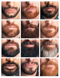 Different goatee styles, types and trends and how to trim the perfect Goatee. This is only for real men that are able to wear a Goatee Beard in Style. Hairy Men, Bearded Men, Barba Sexy, Sexy Bart, Mens Facial, Epic Beard, Beard Grooming, Awesome Beards, Moustaches