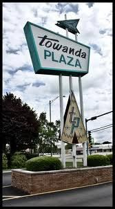 .Towanda Plaza Sign Bloomington Illinois, Getting To Know You, Signs, Shop Signs, Sign