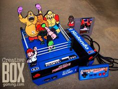 Back again with a knock out punch!I wanted to take one of the bigger cult games of the NES and make the characters come alive. Custom Mike Tyson's Punch Out NES Playstation, Xbox, Video Game Decor, Video Game Rooms, Punch Out Nes, Cult Games, Funny Kermit Memes, Game Over Man, Arcade Room