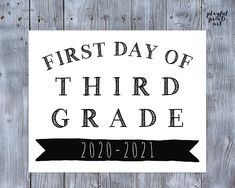 Personalized First Day of School Print, 8x10, Digital Download, Printable by playfulprintsart on Etsy Can Design, Your Design, Childrens Room Decor, Blossom Flower, One Day, First Day Of School, Custom Photo, Things To Know, Birthday Invitations