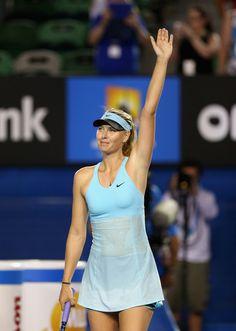 Maria Sharapova - Australian Open Jan 13th 2014