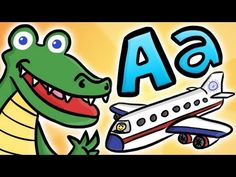 Alphabet Letters - A is for Awesome (Cool School)