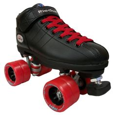 Amazon.com : Riedell R3 Demon Quad Roller Derby Speed Skates w/ 2 Pairs of Laces (White & Matching Color) : Sports & Outdoors