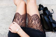 black + lace