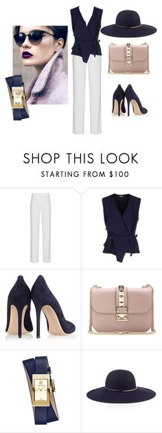 """""""Untitled #73"""" by jovana-p-com ❤ liked on Polyvore featuring DKNY, Mantù, Gianvito Rossi, Valentino, Tory Burch, Reiss, women's clothing, women's fashion, women and female"""