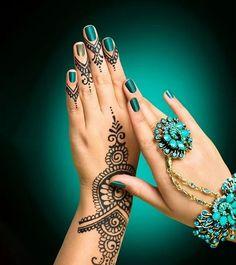 creative henna designs