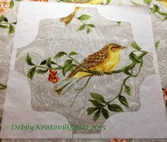 Debby Kratovil Quilts: Bird in Tree Hop - Picture Perfect Birds