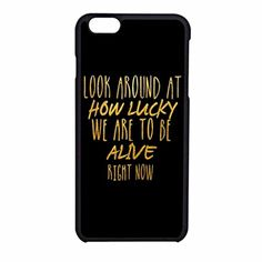 Yiyayiya uniqu Look around at how lucky we are hamilton Custom Phone Case Cover For Apple Iphone 6 (4.7 inch) TPU - Brought to you by Avarsha.com