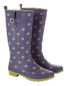 Joules Womens Rain Boots  New prints have been splashed across our classic Rain Boots. No matter where you are planning this Christmas, make sure you stand out from the crowd in true country style.