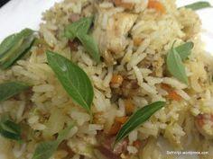 Safrinlipi: chicken, vegetables fried rice  মুরগি, সবজি ভাজা ভ...