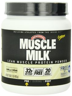CytoSport Muscle Milk, Vanilla Creme, 1 Pound * Find out more details @ http://www.amazon.com/gp/product/B002DUD6PQ/?tag=healthstor05-20&pwx=260716135404