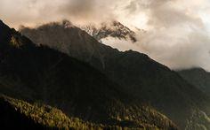 Alps, France, Mood, Mountains, Sunset, Nature, Travel, Sunsets, Viajes