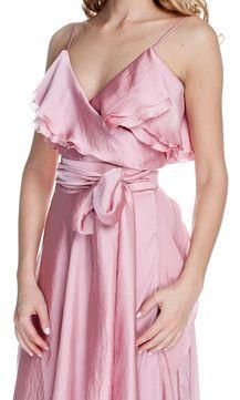 Нежно-розовое платье Helenber