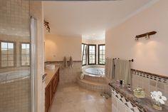 Bath in a turret