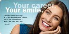 Your health Your smile - info on adult braces from the American Association of Orthodontics Oral Health, Dental Health, Health Tips, Dental Care, Adult Orthodontics, Health Organizations, Great Smiles, Your Smile