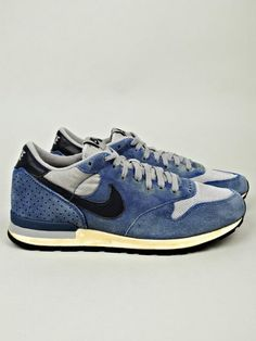 Nike sneakers denim effect