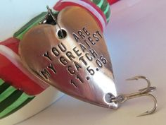 Fishing Christmas Stocking Stuffer Gifts by CandTCustomLures, $17.00