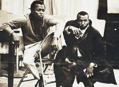 miles davis and elvin jones circa 1959